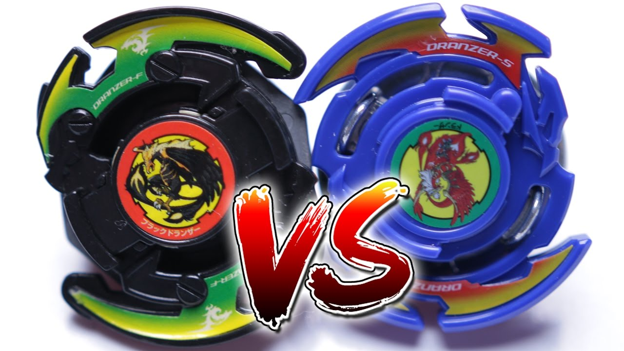 beyblade battle dranzer s burst vs black dranzer f plastic