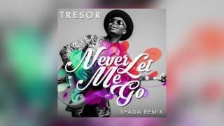 tresor never let me go spada radio edit cover art