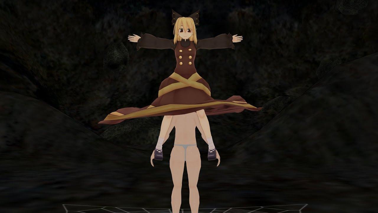 Download ��方MMD】ヤマメ�ゃん�ダイビングスカート�食�丸呑�(vore)】�Skirt Predation】