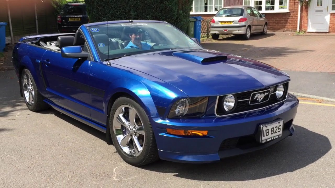 2007 Ford Mustang Gt California Special Awesome Wedding Car Youtube