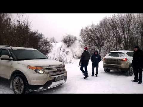 Ford Explorer 5 off road club meeting