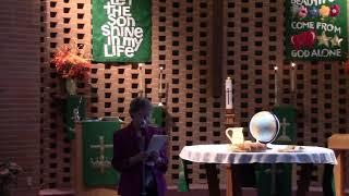 October 3 2021 World Communion Sunday