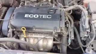 Замена масла Chevrolet Cruze 1.8 Ecotec