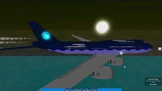 Roblox Aqua Airways 747-400 Flug! [TEIL 2]