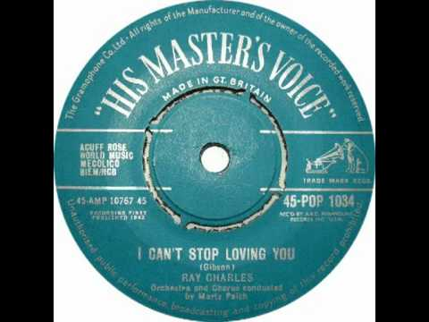 Ray Charles - I Can't Stop Loving You (STEREO SINGLE EDIT)