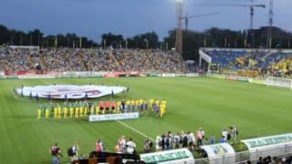 Болельщики запустили в небо воздушные шары ФК Ростов - Ахмат - 0:1