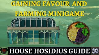 Guide to House Hosidius (Earning Favour & Rewards)