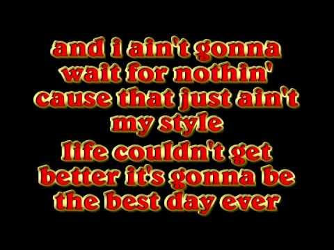 Best Day Ever Lyrics- Mac Miller