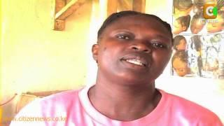 Mama Na Mwana Wazumbua Riziki Kwa Kunyoa