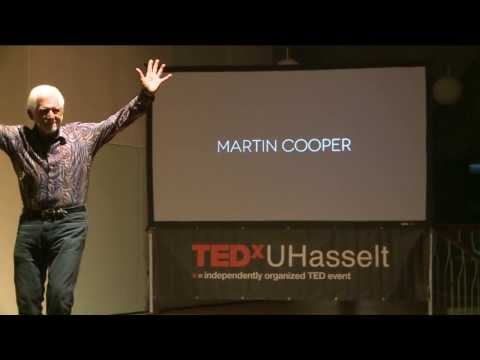 The father of the cell phone: Martin Cooper at TEDxUHasseltSalon