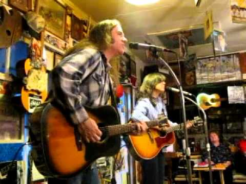 LIVE FROM THE COOK SHACK - STACEY EARLE & MARK STUART - A song from the shelf