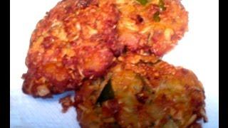 Oats & Potato Patties-healthy Vegan Snack Recipe