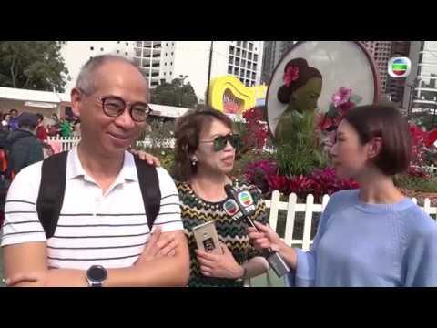 東張西望 花展非法賣海味  香港花卉展覽2019  康文署   維多利亞公園 - YouTube