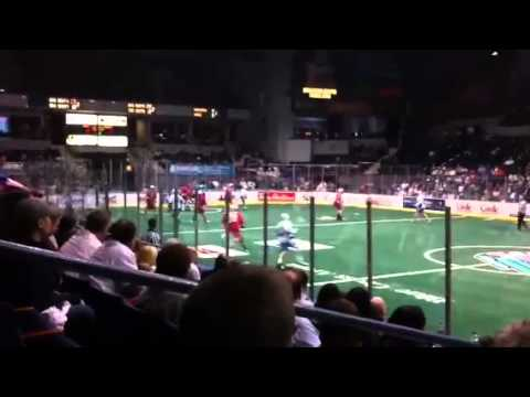 Knighthawks vs. Boston Blazers in Rochester, NY Part 2