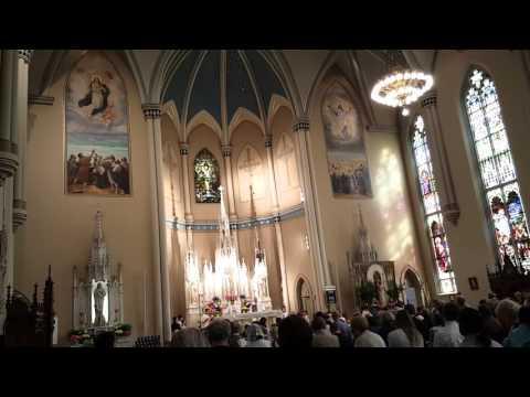 Emmanuel Catholic Church Easter Sunday 2016 (Jesus Christ Is Risen Today)
