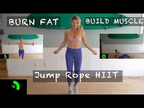 BURN FAT Jump ROPE HIIT Fullbody Workout 30 Minutes For Fat Loss