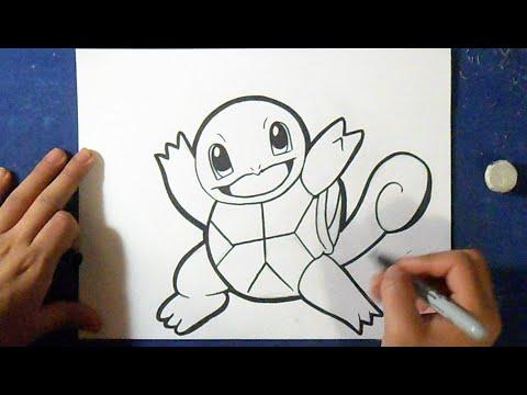 Como Desenhar O Squirtle 2 Pokemon Youtube