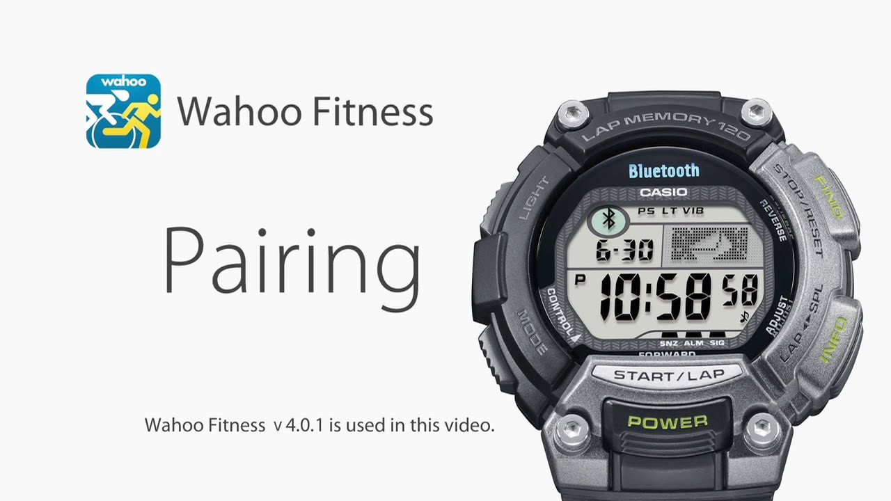 CASIO STB-1000 - How to pair with Wahoo Fitness v4 0 1