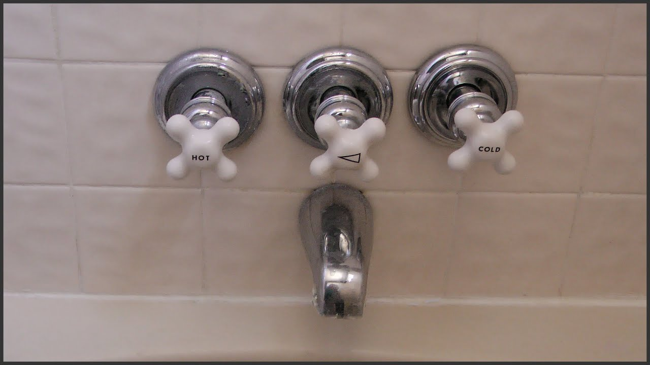 identify the correct shower faucet