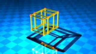 Extend dimension 4D --Hyper Cube