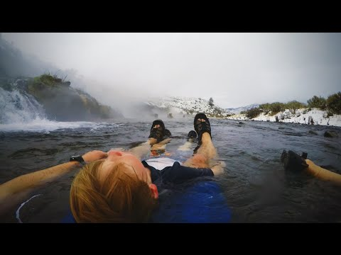 TravelingMel Hotsprings: Boiling River In Yellowstone National Park