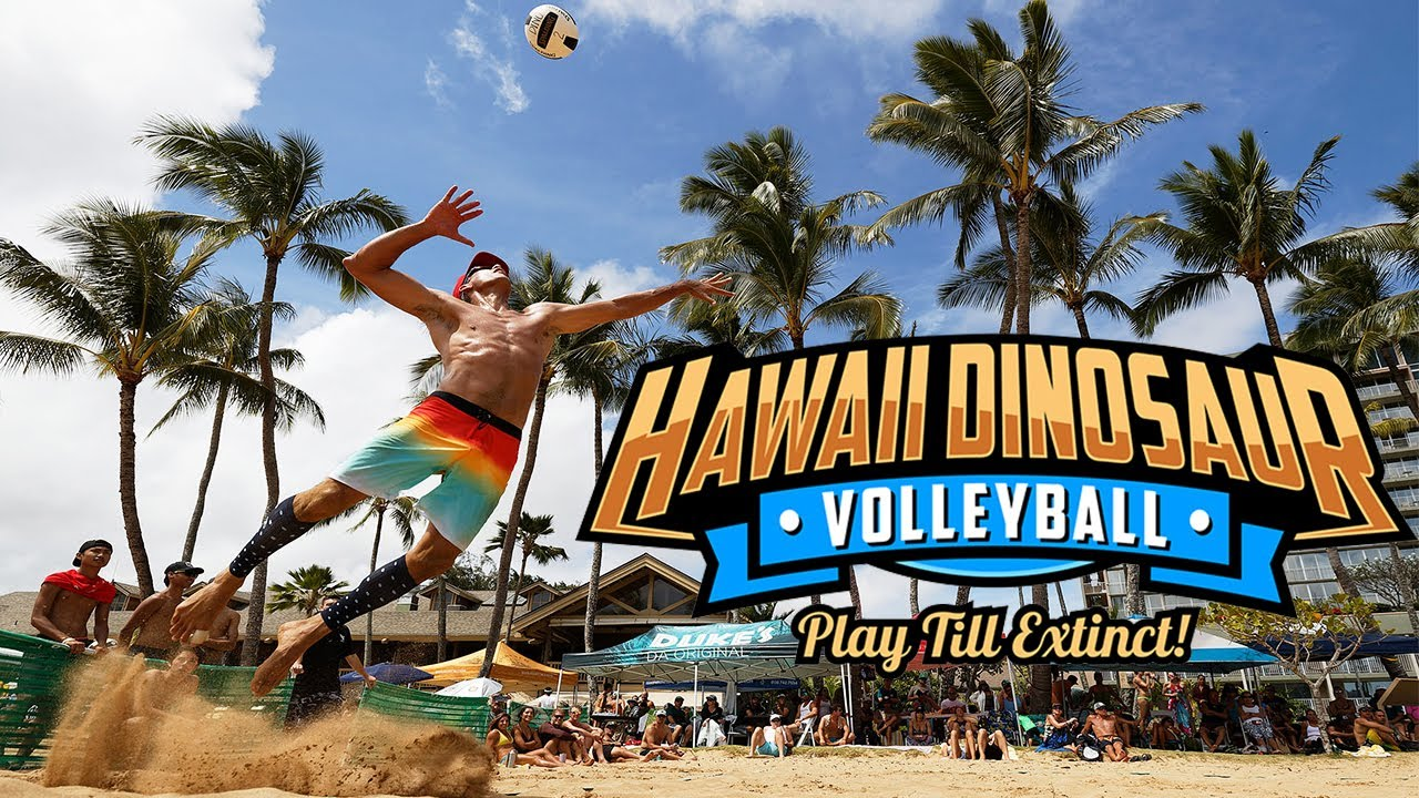 "Legendary Beach Volleyball Final | ""THE DINOSAUR"" Kauai, Hawaii 2020"