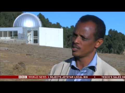 Ethiopia's Entoto Observatory - BBC World News