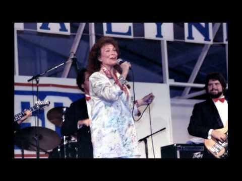 Loretta Lynn USO Show Diego Garcia BIOT 1986
