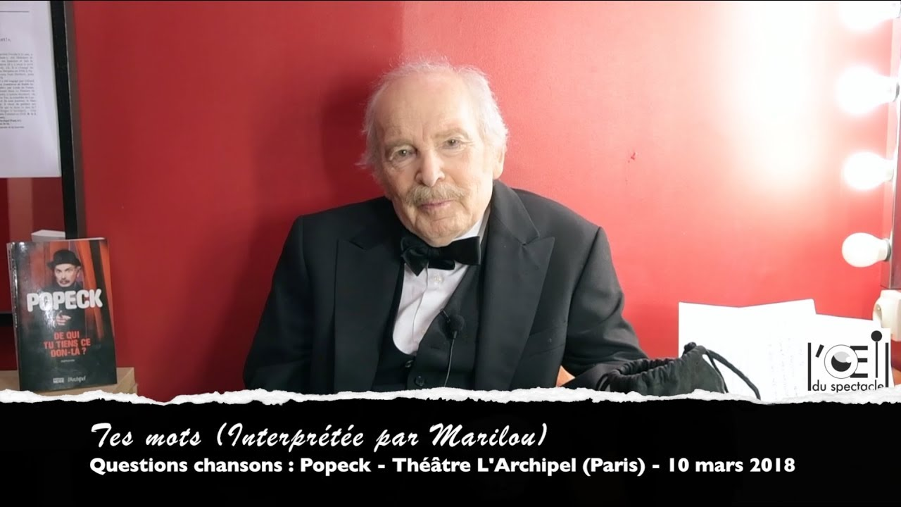 spectacle popeck