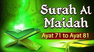 Download lagu Tafseer e Quran Surah Al Maidah Ayat 71 To 81 Mufti Hammad Ahmad Shemaroo Ibaadat MP3