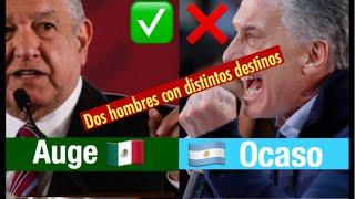 """10/10/2019 AMLO Y MACRI: """"DOS HOMBRES, DOS DESTINOS"""""""