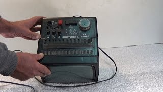 Ремонт кинескопного ТВ Электроника 23ТБ -316Д