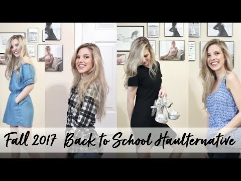Back to School Haulternative- Ethical Second Hand Shopping for Fall 2017 Wardrobe