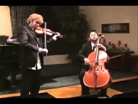 Super Mario Bros. for Violin and Cello by Nathan Chan and Alex Fager
