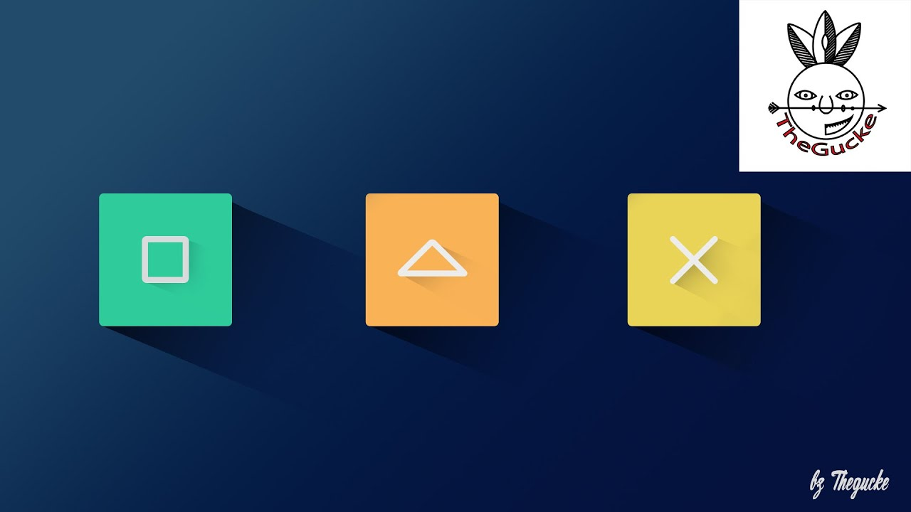 Information & tutorial: impressive icons and buttons tutorials in.