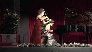 Improvisation par Elsa Moatti, violon et Suzanne Ben Zakoun, piano