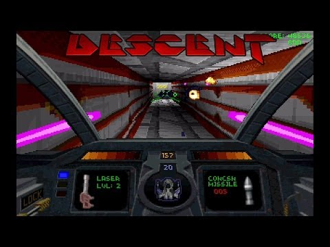 Descent Gameplay - Video Game History Month 2014