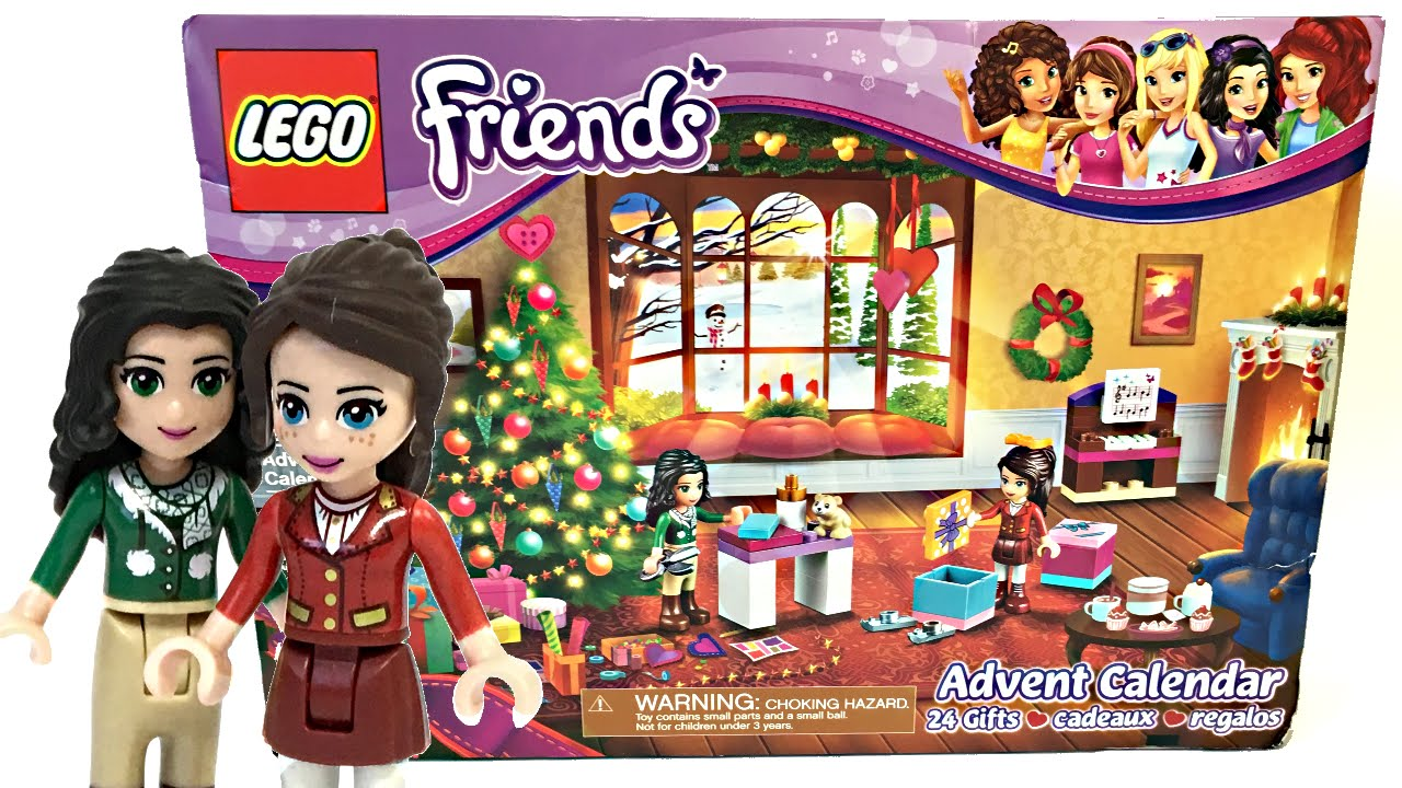 Lego Friends Christmas Sets.Lego Friends 2016 Advent Calendar Review And Unboxing 41131