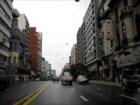 Montevideo recorrido por la avenida 18 de julio youtube for Avenida muebles uruguay