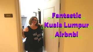 Gambar cover Kuala Lumpur, Malaysia Airbnb Apartment Tour | Chubby and Away