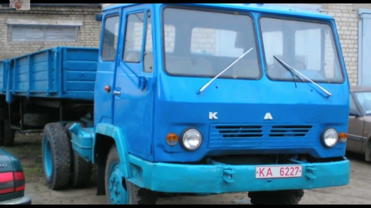 Дожить до наших дней   грузовик КАЗ 608В