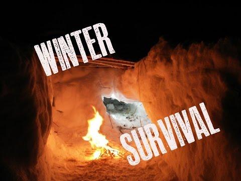 Survival Snow Shelter