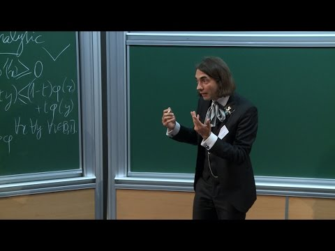 Cédric Villani - Of triangles, gases, prices and men