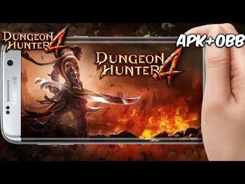 COMO BAIXAR DUNGEON HUNTER 4 [APK+OBB] PARA ANDROID !!