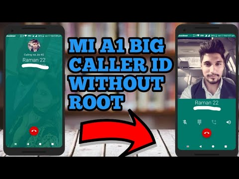 Google dialer mod apk with big caller id on mi a1!MI A1 tips&and tricks!  Hidden features of mi a1