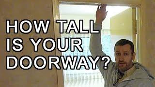 how tall is your doorway?
