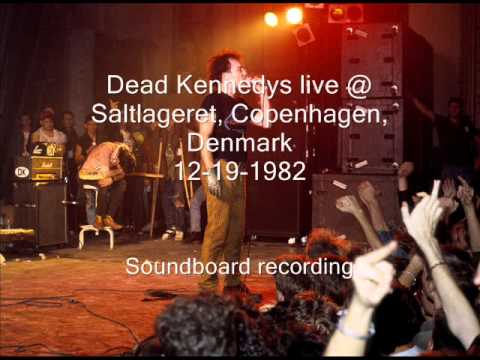"Dead Kennedys ""Funland At The Beach"" live Saltlageret, Copenhagen, Denmark 12-19-82 (SBD)"