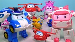 Robocar Poli Türkçe Robovan Amber oyuncakları Harika Kanatlar çizgi film oyuncağı Jett ve Dizzy ile