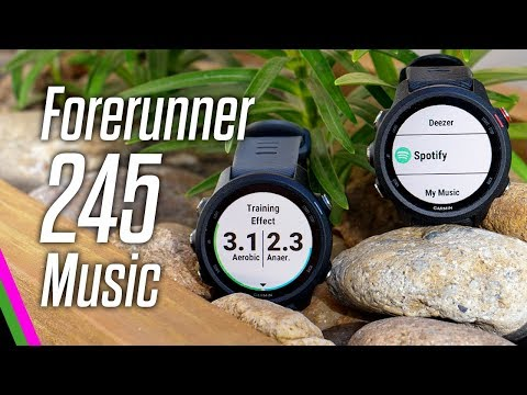 Garmin Forerunner 245 Music // The Fitness Review