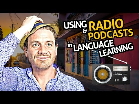 OUINO™ Language Tips: Using Radio & Podcasts in Language Learning (how get used to native speakers)